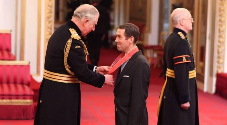 Lex receives CBE